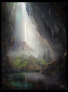 Yulia Misyul - Maya Secret Temple