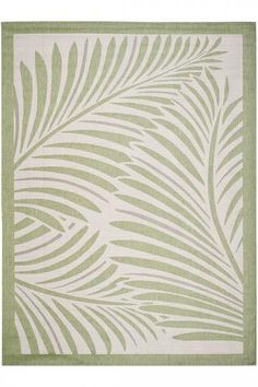 Martha Stewart Living™ Tropic Palm All-Weather Rug - Synthetic Area Rugs - Outdoor Rugs - Rugs | HomeDecorators.com