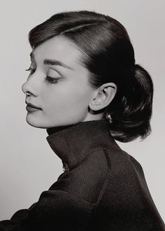 """normajeaned: """" """" Audrey Hepburn photographed by Yousuf Karsh, 1956. """" """""""