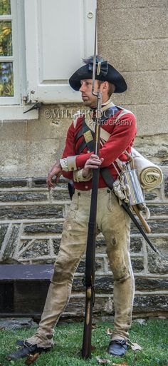 Germantown - 40th Regiment of Foot. Germantown 2014 reenactment