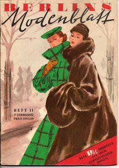1951 Women's Winter Fashions