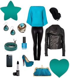 """""""Turquoise"""" by ana-isabel-figueira on Polyvore"""