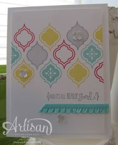 It's All Really Good - AWW | Jane Lee http://janeleescards.blogspot.com