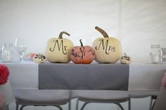 October wedding!