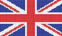 British Flag Cross Stitch Pattern