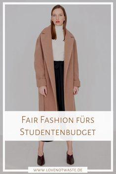 Vorweg: Ja, Fair Fashion Labels sind teurer als vi Dress Stores Near Me, Prom Dress Stores, Fast Fashion, Slow Fashion, Budget Fashion, Ethical Fashion, Fashion Brands, Mode Outfits, Fashion Outfits