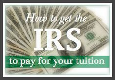 Take advantage of tax credits so you can go back to school.