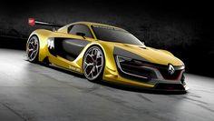 REVEAL : la voiture de course Renault Sport R.S. 01 dévoile ses courbes au Salon de Moscou 2014