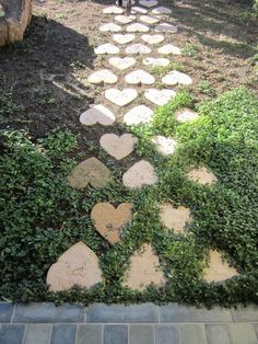 River Stepping Stones Set of 3 Backyard projects Dollar