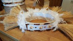 another Natural collection: Tahitian hip belt. Hula, Tahitian Costumes, Decorative Crafts, United Nations, Costume Design, Decor Crafts, Swag, Collection, Mardi Gras