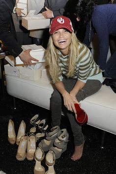 Kristin Chenoweth and Nicole Richie shop to support Lakers Youth Foundation
