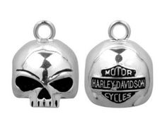 Bike Bells - HarleyDavidson Round Willie G Skull Ride Bell HRB020 * Read more reviews of the product by visiting the link on the image.