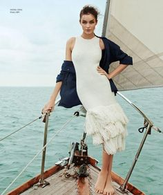 Luma Grothe in 'Beyond the Sea' By Danny Cardozo For Harper's Bazaar Mexico & Latin America June2015 - 3 Sensual Fashion Editorials | Art Exhibits - Women's Fashion & Lifestyle News From Anne of Carversville
