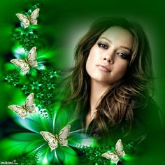 Green Me! Click to add your own photo to this montage. #green #flowers #butterflies #photoeditor #photomontage #photography Foto Frame, I Love You Pictures, Picture Frames Online, At Home Hair Color, Happy Birthday Pictures, Wedding Frames, Photomontage, Beautiful Roses, Photo Editor