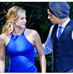 Secretly hoping for some lip action in this scene.... ya know...  Bughead  Riverdale
