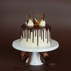 Čokoládový dort s karamelovým krémem Food And Drink, Sweets, Cakes, Google, Cake Ideas, Food Food, Sweet Pastries, Goodies, Cake