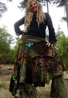 Create your own LoNg GyPsy EcO UpCyCleD by IntergalacticApparel, $212.00