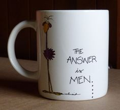 Russ Berrie Understatements Coffee Tea Cup Mug Question Answer