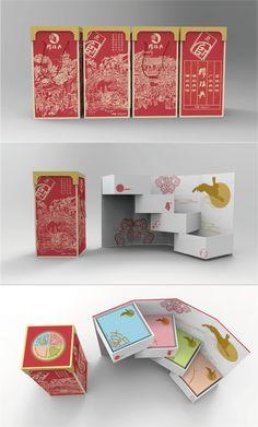 moon cake Cake Packaging, Food Packaging Design, Packaging Design Inspiration, Brand Packaging, Design Café, Creative Design, Design Brochure, Branding Design, Skincare Packaging