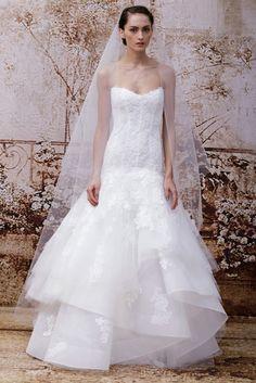Monique Lhuillier Bridal Fall 2014 - Slideshow