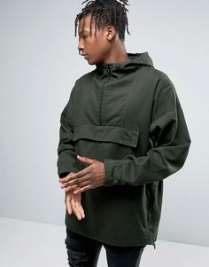 Get this Puma's knit jacket now! Click for more details. Worldwide shipping. Puma Overhead Hooded Jacket - Green: Jacket by Puma, Smooth woven cotton, Drawcord hood, Half zip fastening, Front pouch pocket with adhesive closure, Embroidered logo, Drawcord hem, Oversized fit - falls generously over the body, Machine wash, 100% Cotton, Our model wears a size Medium and is 6'2.5�/189 cm tall. Founded in 1948, Puma has been the label of choice for many of the world's sporting heroes. A focus on…