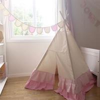 Teepee Tent with volange