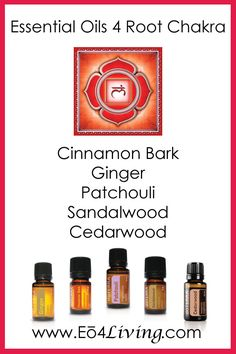 Essential Oils 4 Living: Essential Oils for your Chakras {Root Chakra}