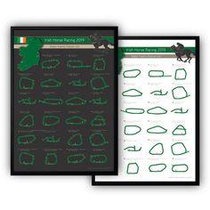 Items similar to Irish Horse Racing Fixtures 2019 Wall Art calendar on Etsy Art Calendar, 2019 Calendar, High Quality Wallpapers, Printed Materials, Horse Racing, Wall Prints, Irish, Black White, Horses
