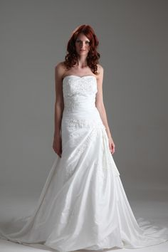 Anna Sorrano #wedding #dress exclusive to the Wedding Dress Factory Outlet.