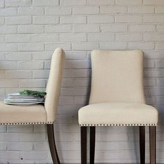 Nailhead Dining Chair modern dining chairs and benches