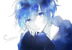 ♥ Anime + My Art ♥ - Anime galaxy + kimono Anime Oc, Anime Kawaii, Anime Chibi, Manga Anime, Boys Anime, Cute Anime Boy, Hot Anime Guys, Manga Boy, Anime Style