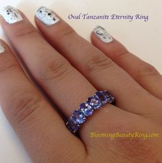 Unique Engagement Rings for Women by Blooming Beauty Jewelry Tanzanite Rings, Tanzanite Pendant, Tanzanite Necklace, Gemstone Rings, Popular Engagement Rings, Engagement Ring Styles, Engagement Ring Settings, Diamond Engagement Rings, Eternity Rings