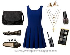 Y. A. Q. - Blog de moda, inspiración y tendencias: [Y ahora qué me pongo con] Un vestido azul