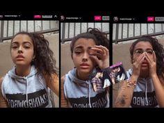 FYI: #ryangarciagervontadavis Malu Trevejo cries about kissing Ryan Garcia while him being engaged on Instagram live ! – Garcia Davis Floyd Mayweather, Wbc, Espn, Kissing, Boxer, Crying, Champion, Marketing, Live