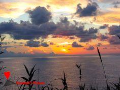 The colors of #dawn in #Stromboli.