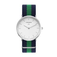 Ibiza Marine Watch Silver - Blue Green Blue