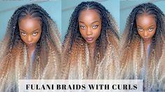 Photo Credit: CoCo Nyoero Vitamins For Hair Growth, Hair Vitamins, Natural Hair Growth, Natural Hair Styles, Natural Hair Tutorials, Fulani Braids, Braids With Curls, Crochet Braids, Photo Credit