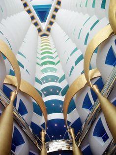 Inside the Burj al Arab Hotel - Dubai