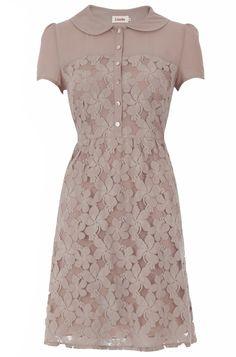 LOUCHE UMA LACE SHIRT DRESS - love this dress