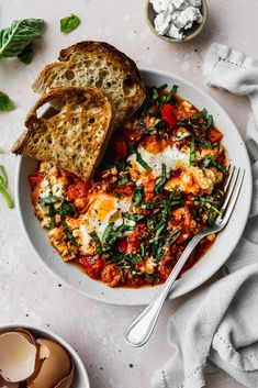This collection of 15+ easy, healthy egg recipes ideas will give you a ton of inspiration for what to make with eggs. These dishes use simple ingredients, are easy to cook, and can be enjoyed for breakfast, lunch, or even dinner! Healthy Egg Recipes, Healthy Baking, Whole Food Recipes, Protein Recipes, Healthy Protein, Family Recipes, Vegetarian Recipes, Baked Vegetables, Veggies