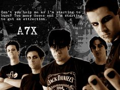 avenged sevenfold A7X lyrics picture and wallpaper ugh zacky :D <3 why must you be perfect in this pic!!?