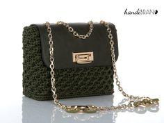 Chanel Boy Bag, Crochet Bags, Bubble, November, Glamour, Shoulder Bag, Shopping, Fashion, Crochet Pouch