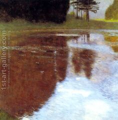 Still Pond by Gustav Klimt