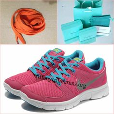 Womens Nike Flex Experience Run Pink Grey Blue Shoes   #Pink #Womens #Sneakers