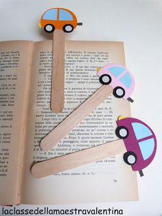 Punts de llibre de cotxes