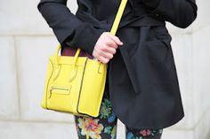 Celine Nano in Yellow