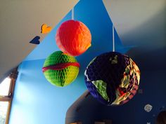 Colourful Baubles to light up any Kids bedroom