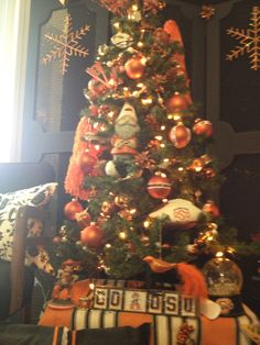 Oklahoma State University - Christmas Tree! (and Mike said this would be stupid... Little did he know I didn't care what he thought about it. I was going to do it anyway! HA!)