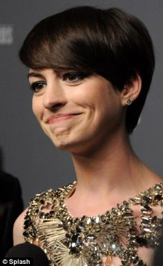 Fine tuning: Anne Hathaway is set to return to singing on screen