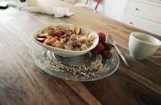 Birchermüsli und Porridge
